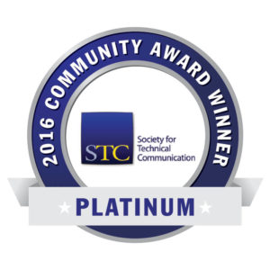 STC community platinum award 2016