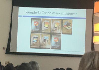 Coach mark app gets a makeover