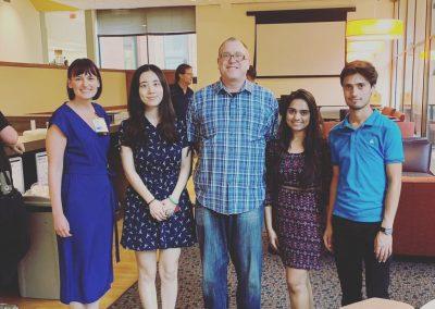 Group of volunteers at WritersUA