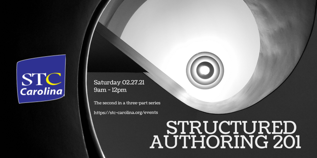 Structured Authoring 201 promotional image