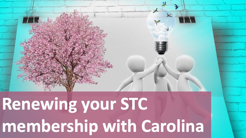 2021 STC Membership Renewal