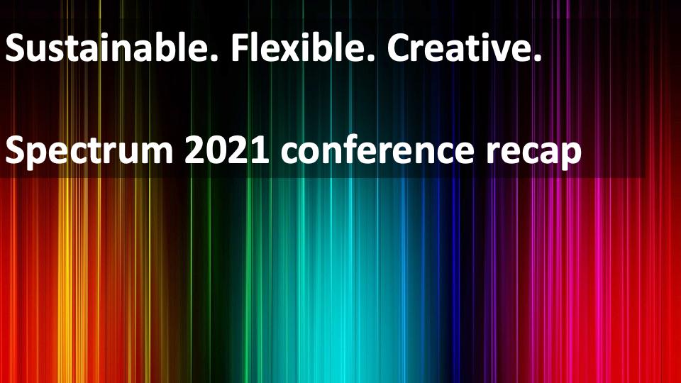 Recap: STC Rochester Spectrum Conference 2021