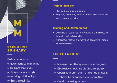 Mentorship Manager